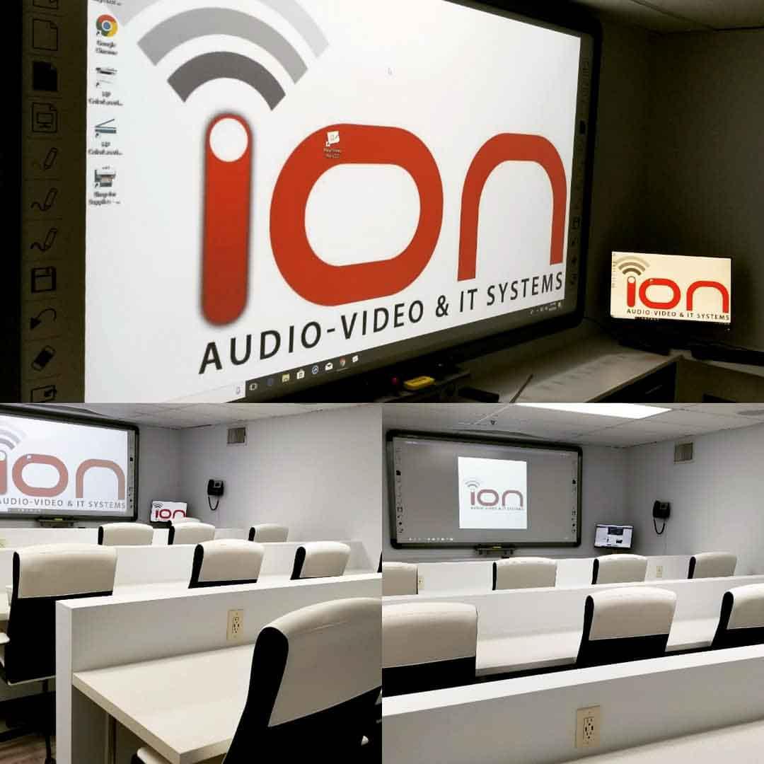 Los Angeles smart board audio visual lighting control